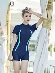 abordables -SEA BBOT Femme Maillot de bain Maillots de Bain Protection solaire UV Sans Manches Boyleg - Plongée Mosaïque Eté
