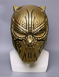 cheap -Cosplay Costume Mask Halloween Mask Inspired by Super Heroes Golden Cosplay Halloween Halloween Carnival Masquerade Adults' Men's