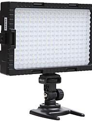 Недорогие -глаза сокола 216 двухцветный светодиодный свет видео лампы с затемнением для освещения фотографирования или съемки для камеры Canon Nikon DV-216VC