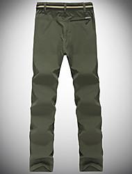 cheap -Men's Hiking Pants Outdoor Breathable Quick Dry Ventilation Ultra Light (UL) Pants / Trousers Bottoms Fishing Climbing Camping / Hiking / Caving Army Green Black Dark Blue 4XL L XL XXL XXXL