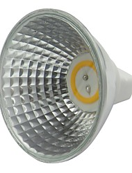 cheap -1pc 3.5W MR16 LED Spotlight 300-320lm 12V AC DC COB LED Lamp White Warm White for Home Office Commercial lighting