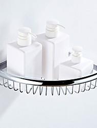 cheap -Bathroom Shelf Creative Modern Brass 1pc - Bathroom Single Wall Mounted