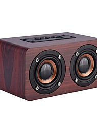 cheap -Bluetooth speaker Wired Speaker Outdoor Portable Woodiness For