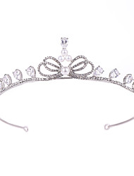 cheap -Decorations / Unsented / tiaras Hair Accessories Crystal / Silver Wigs Accessories Women's 1 pcs pcs # cm School / Quinceañera & Sweet Sixteen / Birthday Party Crystal / Headpieces / Diamond