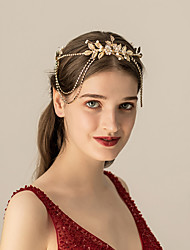 cheap -Alloy Headbands with Rhinestone / Crystal / Imitation Pearl 1 pc Wedding / Party / Evening Headpiece