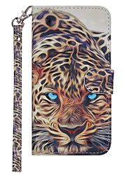 cheap -Case For Nokia Nokia 7.1 / Nokia 6 2018 / Nokia 5 Wallet / Card Holder / with Stand Full Body Cases Animal Hard PU Leather