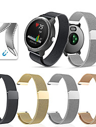 cheap -Watch Band for Vivomove HR / Vivoactive 3 Garmin Sport Band / Milanese Loop Stainless Steel Wrist Strap