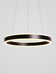 cheap -2-Light Circular Pendant Light Downlight Painted Finishes Metal Acrylic LED 110-120V / 220-240V Warm White / White LED Light Source Included / LED Integrated