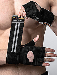 cheap -Weight Lifting Belt / Gloves / Sports Gloves for Activity & Sports Gloves Sticky / Slip Resistant / Breathable Poly urethane One Pair × 2 Black / Pink