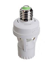 cheap -1pc E27 to E27 100-240 V Infrared Sensor Plastic Light Bulb Socket