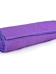 cheap -Yoga Mat Non Slip Collapsible Comfortable Durable Superfine fiber For Amethyst Green Blue