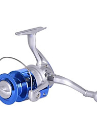 cheap -Fishing Reel Spinning Reel 5.2:1 Gear Ratio+8 Ball Bearings Hand Orientation Exchangable Sea Fishing / Spinning / Freshwater Fishing