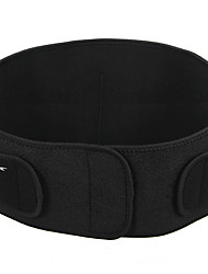 cheap -Protective Gear Lumbar Belt / Lower Back Support for Running Outdoor Fitness Other Material 2pcs Black