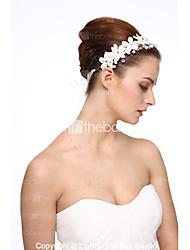 cheap -Crystal / Imitation Pearl / Alloy Tiaras / Flowers with Rhinestone / Faux Pearl / Crystal / Rhinestone 1 Piece Wedding Headpiece