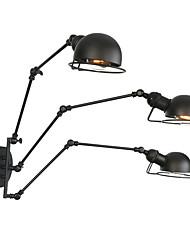 abordables -Antireflet / Créatif Rétro / Vintage Lumières de bras oscillant Bureau / Bureau de maison / Magasins / Cafés Métal Applique murale 110-120V / 220-240V