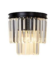 cheap -LightMyself™ Modern Contemporary / Traditional / Classic Flush Mount wall Lights Living Room / Bedroom Crystal Wall Light 110-120V / 220-240V 40 W