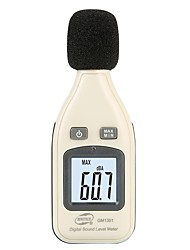 cheap -BENETECH Digital Sound Level Meter Noise Audio Decibelimetro 30-130dBA Noisemete Decibels Noise Decibel Monitor Tester GM1351