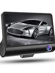 Недорогие -HD / Ночное видение / Двойной объектив Автомобильный видеорегистратор 170° Широкий угол 4 дюймовый IPS Капюшон с G-Sensor / Обноружение движения / Циклическая запись Автомобильный рекордер
