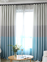 cheap -Contemporary Blackout One Panel Curtain Living Room   Curtains