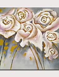 Недорогие -mintura&рег; Большой размер ручная роспись цветы маслом на холсте современные абстрактные картины искусства стены для украшения дома не оформлена