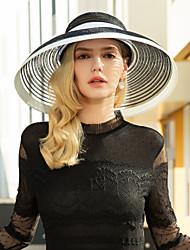 abordables -Polyester Chapeaux avec Bloc de Couleur 1pc Décontracté / Usage quotidien Casque