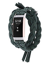 cheap -Watch Band for Fitbit Charge 3 Fitbit Sport Band / DIY Tools Fabric / Nylon Wrist Strap