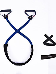 cheap -Exercise Resistance Bands Latex Stretching Resistance Training Fitness Workout For Men's