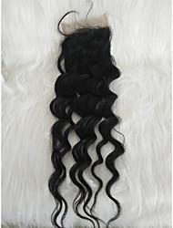 cheap -Braiding Hair Curly Others Human Hair 1 Piece Hair Braids Black 20 inch 20 inch Hot Sale Youth Valentine Outdoor Malaysian Hair