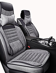 cheap -Car Seat Covers Headrest & Waist Cushion Kits Beige / Gray / Coffee Artificial Leather / synthetic fibre Business / Common For universal All years General Motors