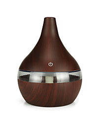 cheap -300 ml wood grain fragrant machine creative mini USB flat mouth spray machine