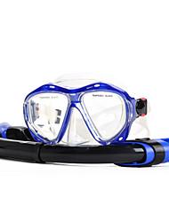 Недорогие -YON SUB Дайвинг Пакеты - Маска для ныряния шноркель - подводный 180 Градусов Противо-туманное покрытие Дайвинг Водные виды спорта Силикон  Для Взрослые