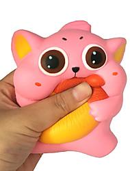 Недорогие -Резиновые игрушки Кошка Декомпрессионные игрушки Поли уретан для Все
