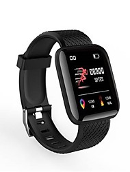 cheap -BoZhuo D116 PLus Smart Bracelet Smartwatch Android iOS Bluetooth Waterproof Heart Rate Monitor Blood Pressure Measurement Calories Burned Information Stopwatch Pedometer Call Reminder Sleep Tracker