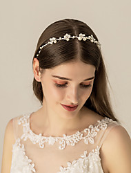 cheap -Beads / Alloy Headpiece with Imitation Pearl / Metal / Crystals / Rhinestones 1 pc Wedding / Party / Evening Headpiece