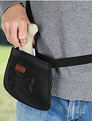 cheap -Dog Cat Carrier Bag & Travel Backpack Shoulder Messenger Bag Food Storage Waterproof Portable Mini Footprint / Paw Other Leather Type Black Purple Brown