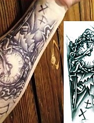 cheap -3 pcs Temporary Tattoos Water Resistant / Best Quality brachium Tattoo Stickers