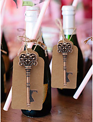 cheap -Non-personalized Chrome Hotel Amenities / Bottle Lock / RFID Keyfobs Creative / Wedding Bottle Favor