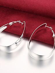 cheap -Women's Drop Earrings Silver Plated Earrings Jewelry Silver For Daily Casual
