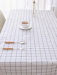 cheap -Table Cloth PVC(PolyVinyl Chloride) Water Resistant Classic Geometric Tabel cover Table decorations for Square 10.0*10.0*1.0 cm Green 1 pcs