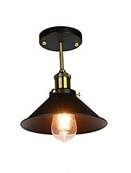 cheap -1-Light 22 cm Flush Mount Lights Metal Country 110-120V / 220-240V