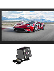 cheap -SWM 9218S+4LED camera 7 inch 2 DIN Android 8.1 Car Multimedia Player / Car MP5 Player / Car MP4 Player Touch Screen / GPS / MP3 for universal RCA Support MPEG / WMV / RMVB MP3 / WMA / WAV JPEG