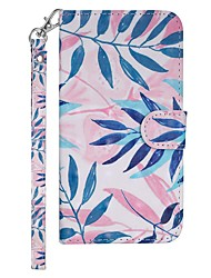 cheap -Case For Nokia Nokia 7.1 / Nokia 6 2018 / Nokia 5 Wallet / Card Holder / with Stand Full Body Cases Tree Hard PU Leather