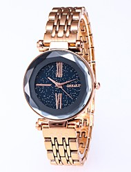 cheap -Women's Quartz Watches New Arrival Elegant Black Gold Pool Plastic Chinese Quartz Midnight Blue Wine Rose Gold Creative New Design Color Gradient 30 m 1 pc Analog Analog - Digital Two Years Battery