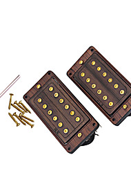 cheap -Guitar Wood Guitar Case GMC24 for Acoustic and Electric Guitars Musical Instrument Accessories 1 pcs 9.2*4.6*2.4 cm