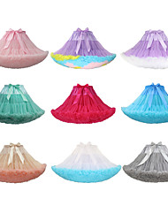 cheap -Ballet Tutu Bubble Skirt Under Skirt 1950s Layered Dark Green RedYellow Gray & Green Petticoat / Stitching Lace / Crinoline