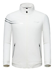 cheap -TTYGJ Men's Polos Shirt Long Sleeve Tennis Athleisure Outdoor Autumn / Fall Spring Summer / Micro-elastic / Quick Dry / Breathable / Solid Color