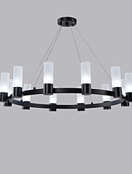 cheap -12 Bulbs 80 cm Mini Style Chandelier Metal Mini Painted Finishes Artistic / Traditional / Classic 110-120V / 220-240V