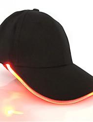 Недорогие -новинка новый дизайн светодиодное освещение шляпа украшение партии бейсбол хип-хоп свет шапки регулируемая ткань шляпа светящиеся колпачок