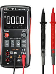 Недорогие -zoyi zt-x true-rms кнопка цифрового мультиметра 9999 отсчитывает текущее напряжение ом автоматический мультиметр с английским русским руководством