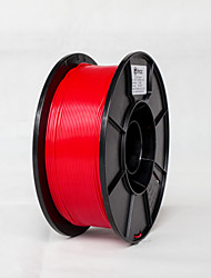 cheap -Tidy Spool 3D Material  PLA 1.75mm 1kg Red Color